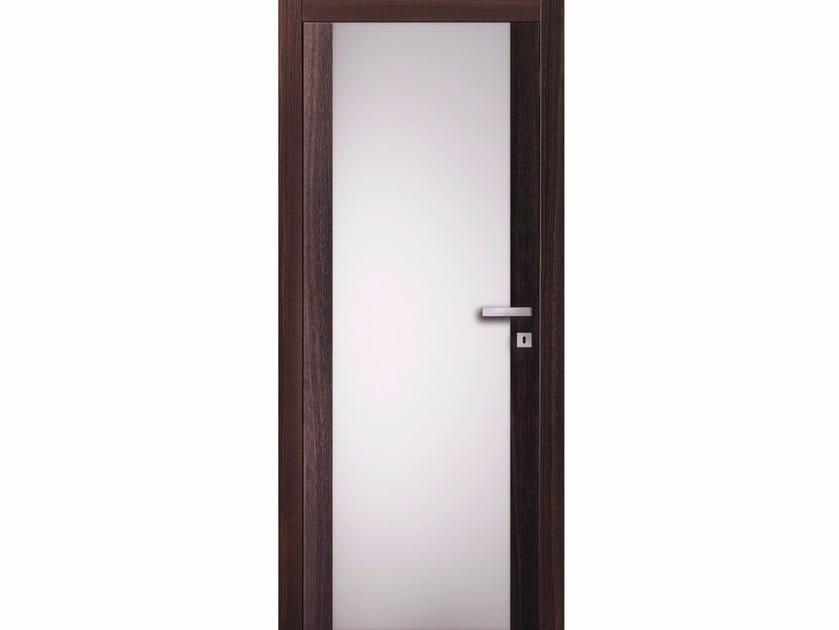 Porta a battente in legno e vetro TABACCO RIVER - BARAUSSE