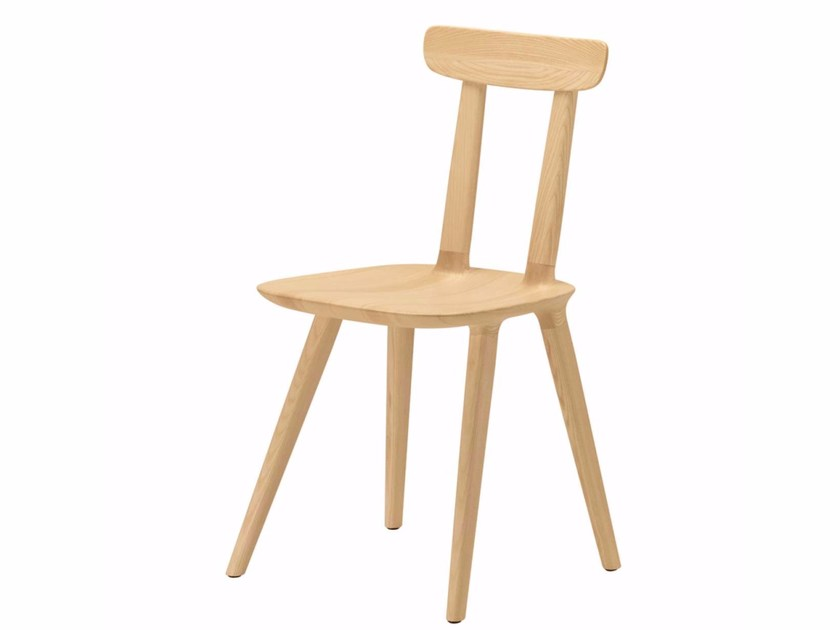 Ash chair TABU BACKREST WOOD - 075 - Alias