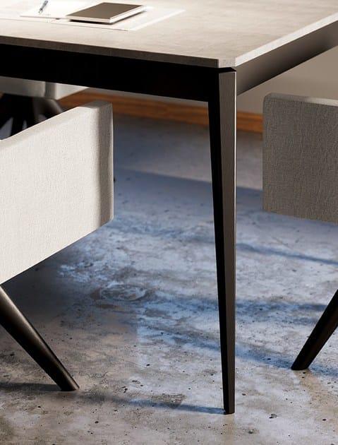 Tavolo ad altezza regolabile allungabile da cucina in - Altezza tavolo cucina ...