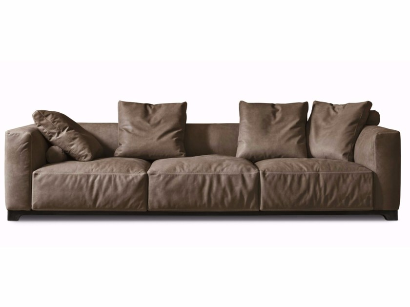 3 seater leather sofa TAILOR - ALIVAR
