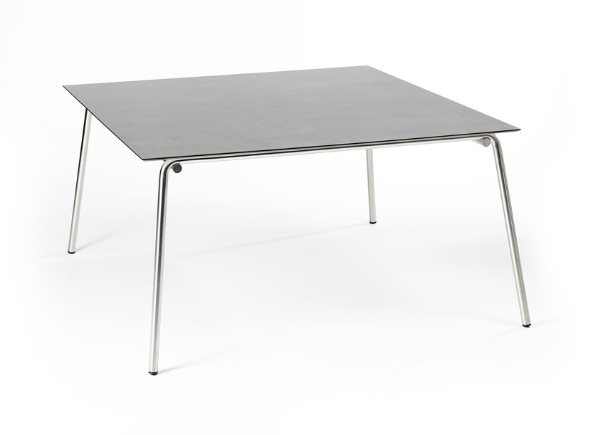 Square garden table TAKU | Square table - FISCHER MÖBEL