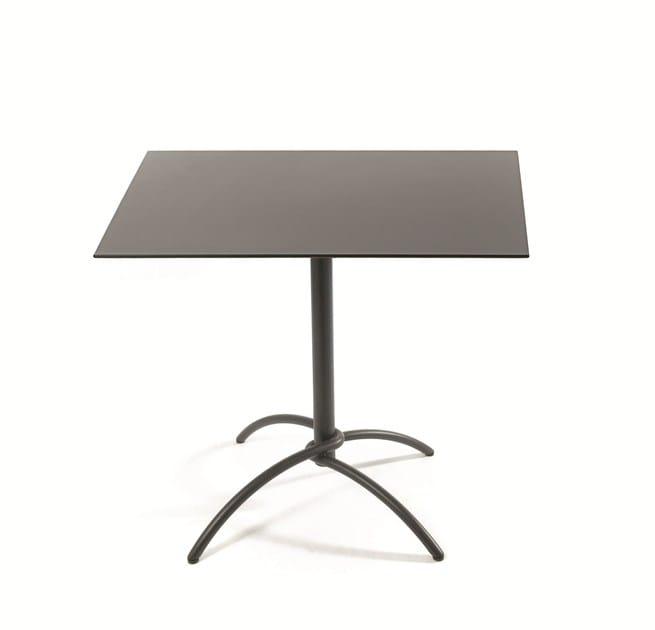 Square teak garden table TAKU TEAK | Square table - FISCHER MÖBEL