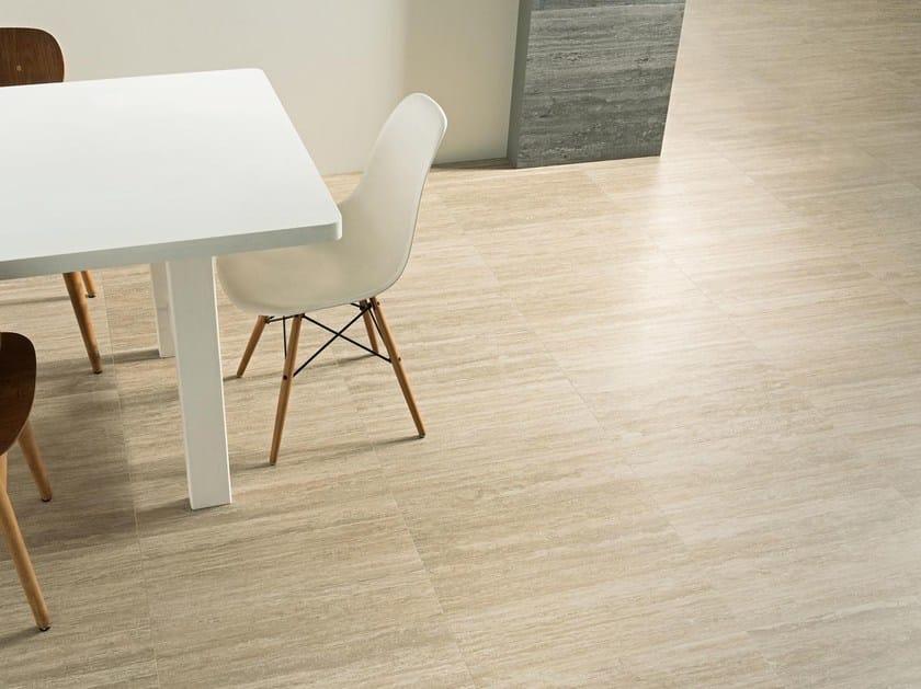 Porcelain stoneware wall/floor tiles with stone effect TALE CLASSICO VERSO - Ceramiche Caesar