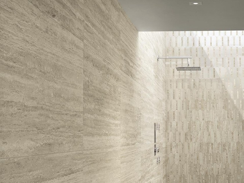 Porcelain stoneware wall/floor tiles with stone effect TALE NAVONA VERSO - Ceramiche Caesar