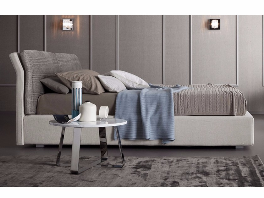 Fabric bed with removable cover TALIA by Chaarme