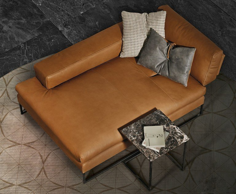 Leather day bed TALINE | Leather day bed - ITALY DREAM DESIGN - Kallisté