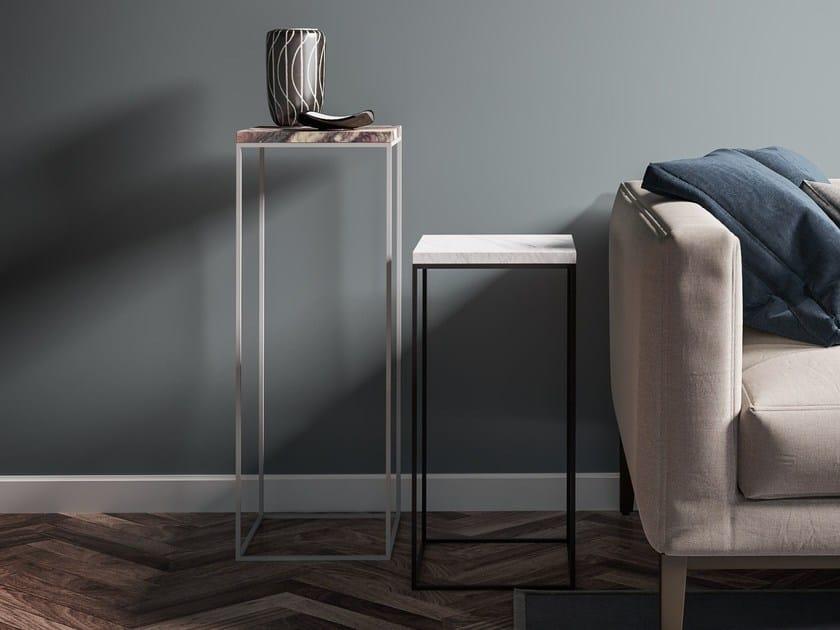 Tavolino di servizio in metallo verniciato TALINO - FILODESIGN di Michela Gerlo & C.