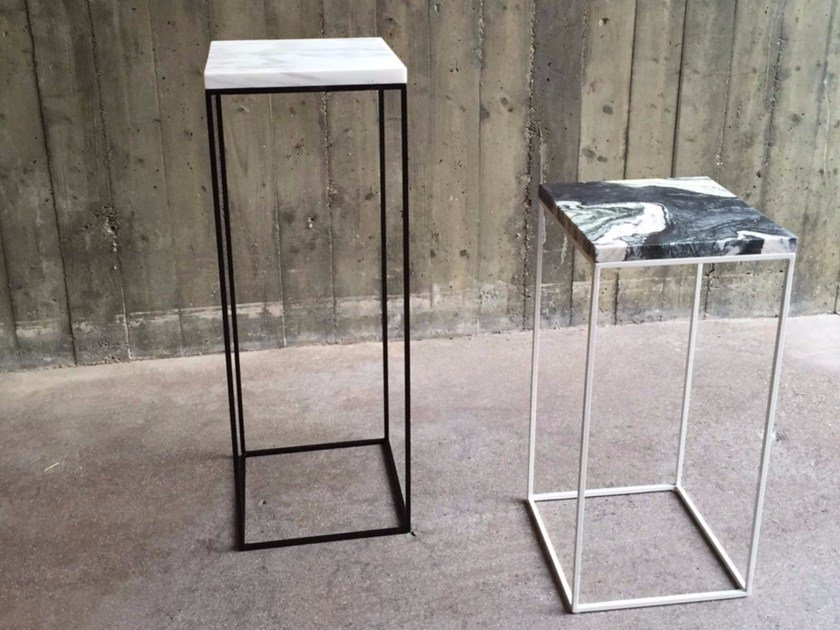Painted metal side table TALINO - FILODESIGN di Michela Gerlo & C.