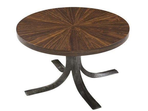 Low round coffee table TALOS COCKTAIL by Hamilton Conte Paris