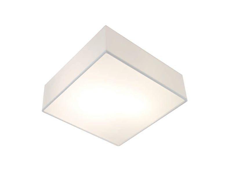 Cotton ceiling light TAMB SQUARE - Aromas del Campo