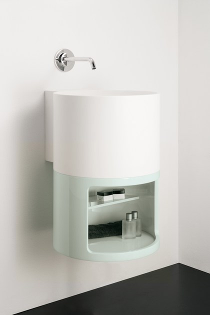 Solid Surface® vanity unit TAMBO | Vanity unit - INBANI