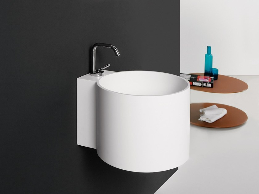 Round Solid Surface® washbasin TAMBO | Washbasin by INBANI