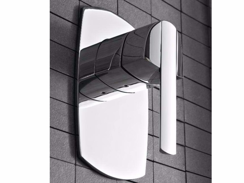 Single handle chromed brass shower mixer TANGO | Shower mixer - ZAZZERI
