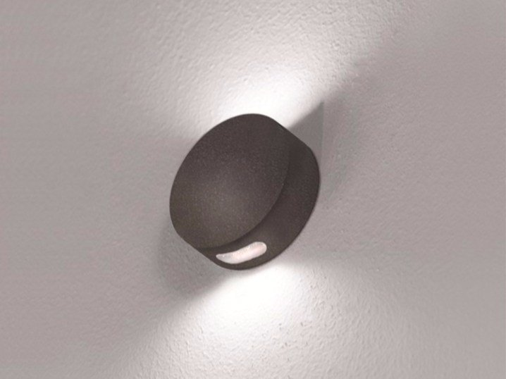 LED wall-mounted foot- and walkover light TANGO R (V-H-X) exterior lighting by BEL-LIGHTING