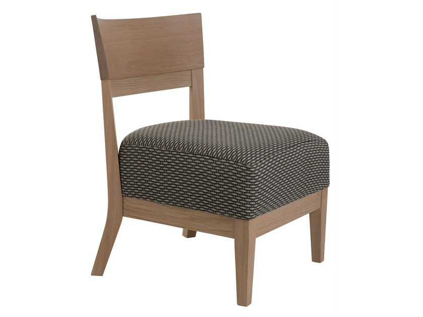 Upholstered fabric easy chair TAO - PERROUIN SIEGES