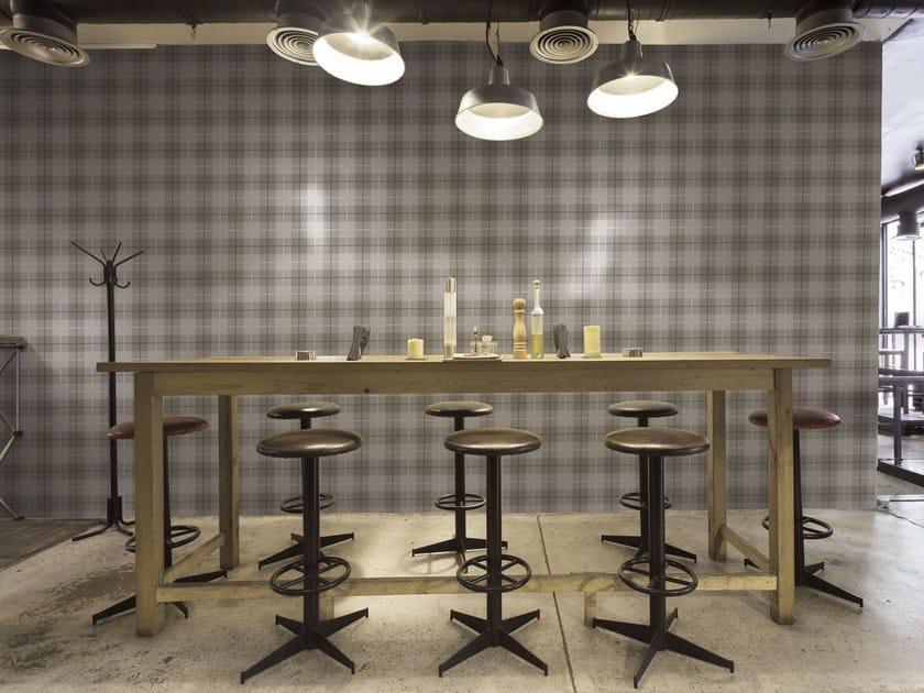 Glazed stoneware wall tiles with textile effect TARTAN | Wall tiles - ORNAMENTA