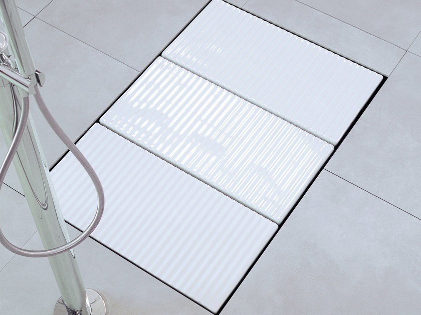 Flush fitting modular ceramic shower tray TATAMI | Modular shower tray - CERAMICA FLAMINIA
