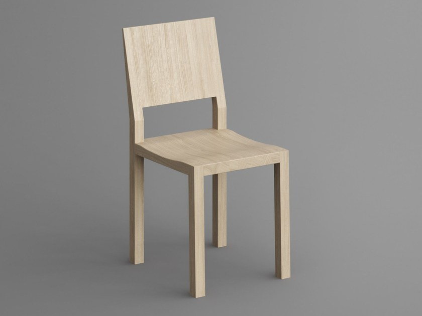 Solid wood chair TAU | Chair - vitamin design