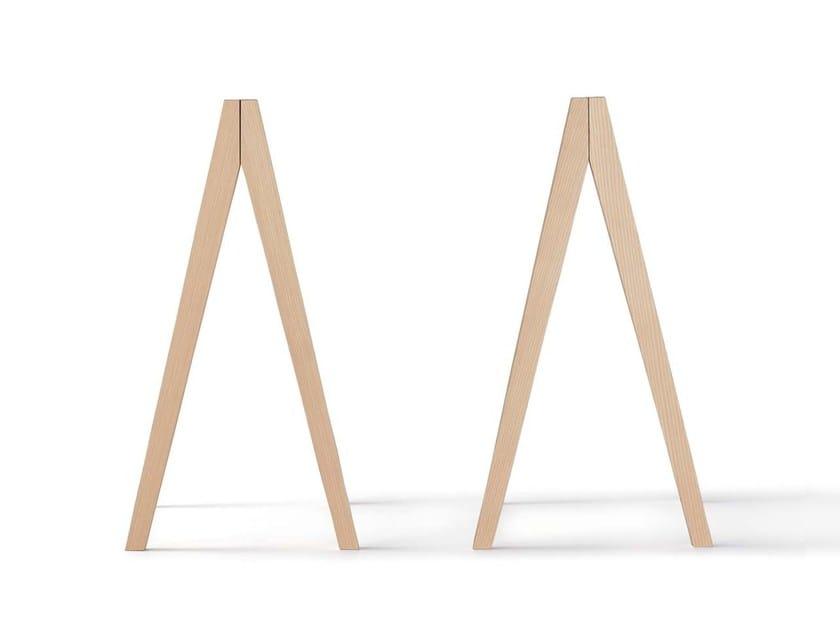 Ash table base TAURUS by Nils Holger Moormann