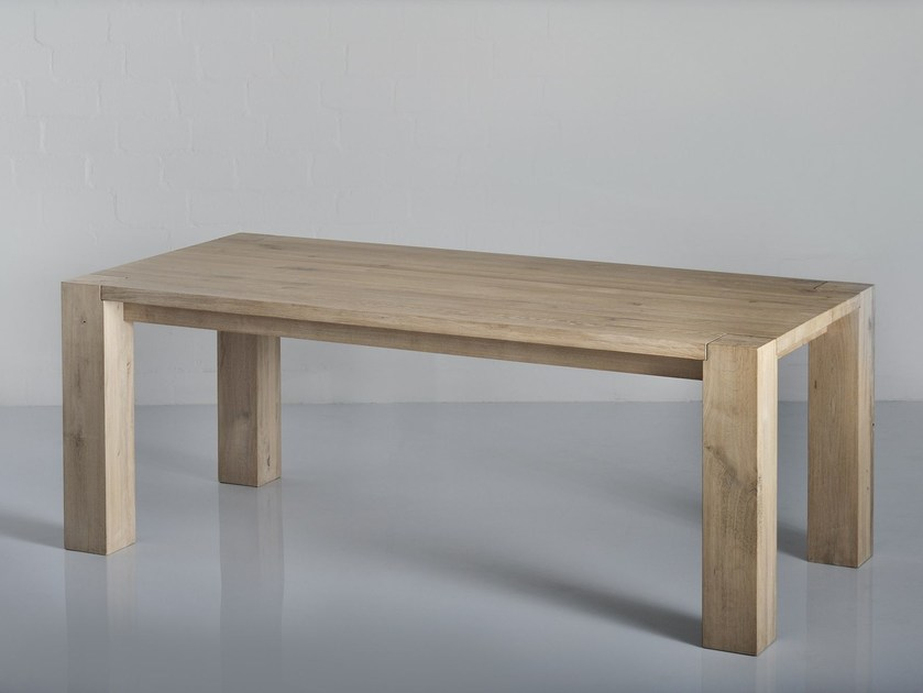 Extending solid wood table TAURUS | Table - vitamin design