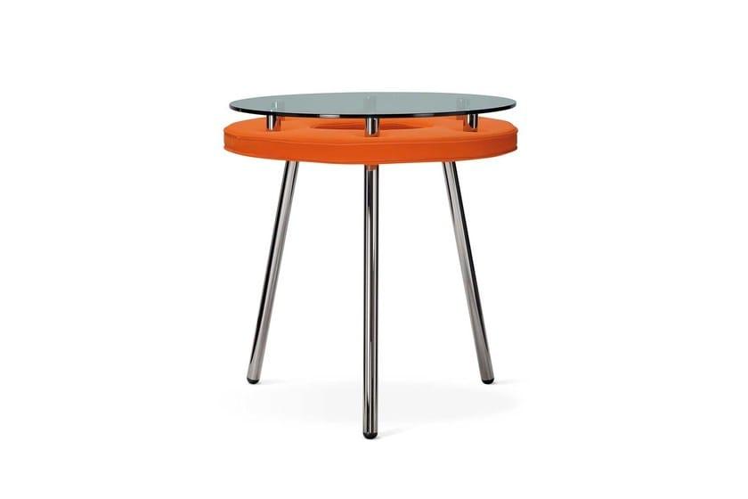 Round glass table TAV'OLO | Table - Adrenalina