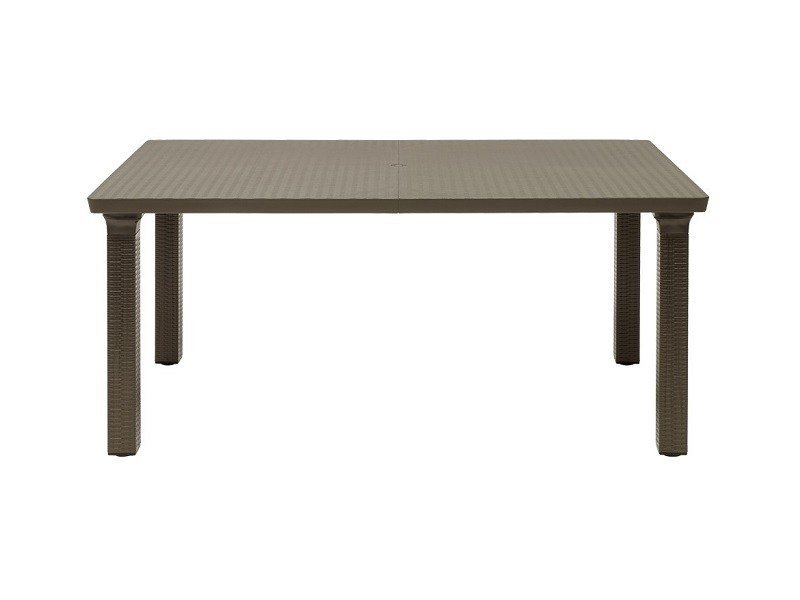 Contemporary style rectangular aluminium garden table TAVOLONE | Rectangular table - SCAB DESIGN