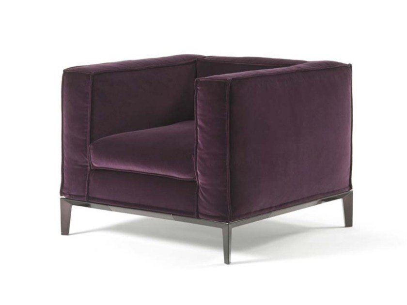 Fabric armchair with armrests TAYLOR JUNIOR | Armchair - FRIGERIO POLTRONE E DIVANI