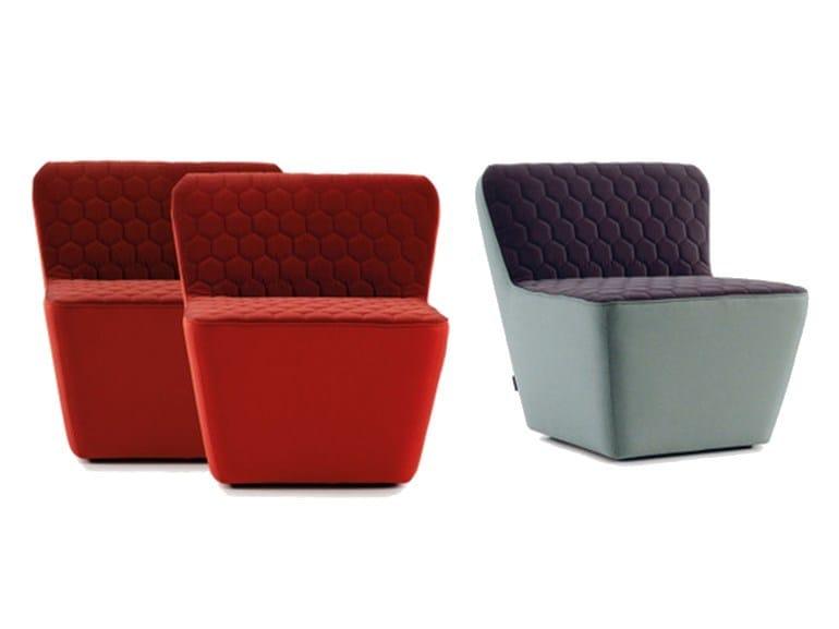 Fabric armchair TEA | Armchair - SANCAL