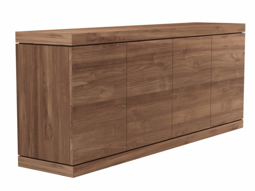 Teak sideboard with doors TEAK BURGER | Sideboard - Ethnicraft