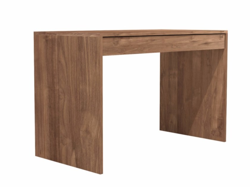 Rectangular teak console table with drawers TEAK WAVE | Console table - Ethnicraft