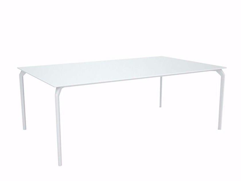 Lacquered rectangular table TEC 1000 - 632 - Alias