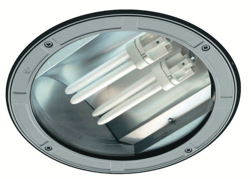 Ceiling recessed die cast aluminium Outdoor spotlight TECH F.3071 by Francesconi & C.