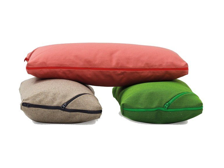 Rectangular fabric sofa cushion TECNO | Rectangular cushion - SANCAL