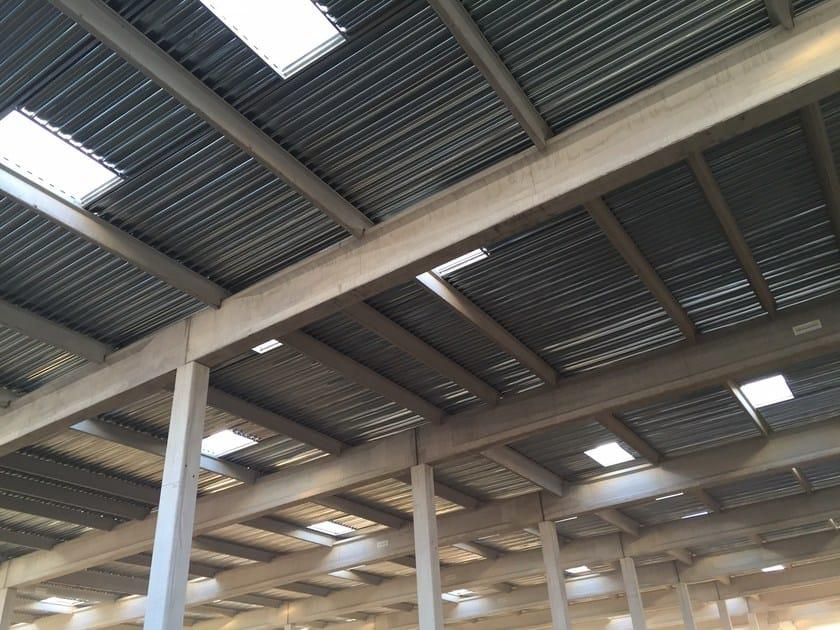 Steel building system TECNODEC - CENTROMETAL