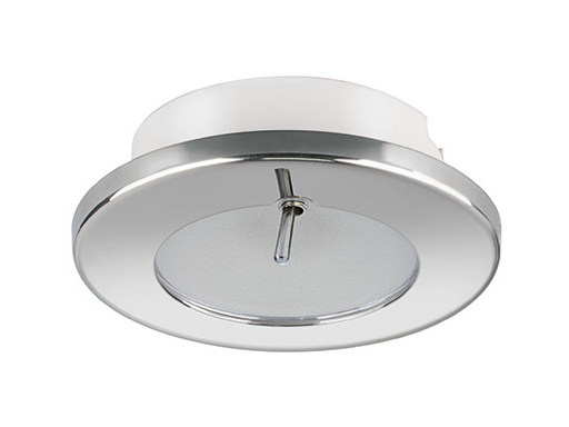 LED recessed stainless steel spotlight TED CS 2W - IP40 - Quicklighting