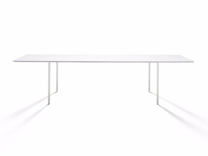 Tavolo rettangolare TEE-TABLE - DE PADOVA