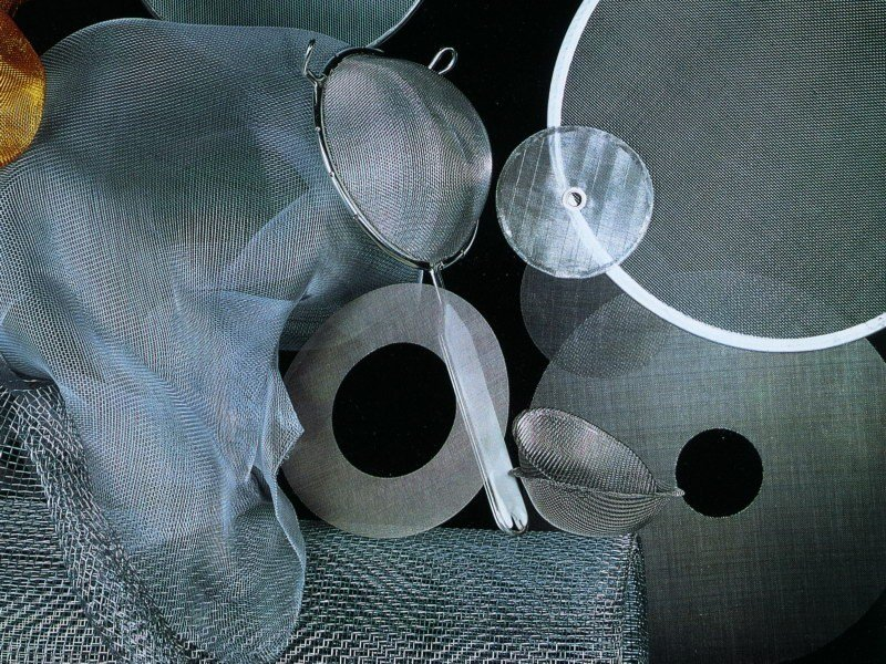 Wire mesh filter for industrial use SHAPED FILTER MESH by TTM Rossi