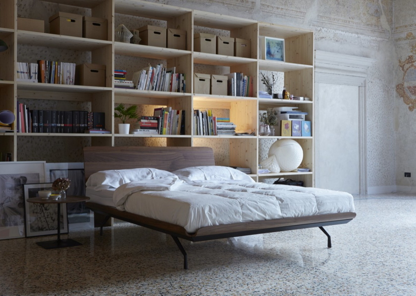 Metal double bed TELEMARK | Double bed - iCarraro italian makers