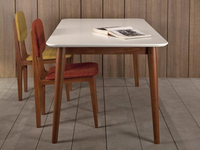 Rectangular dining table TEMA | Lacquered table by Kann Design