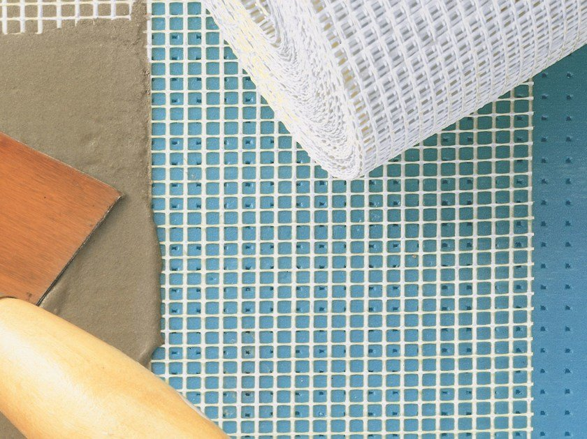 Mesh and reinforcement for plaster and skimming TENAX KAP R by TENAX