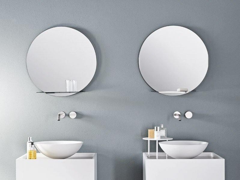 Specchio bagno rotondo retroilluminato specchio bagno specchiera