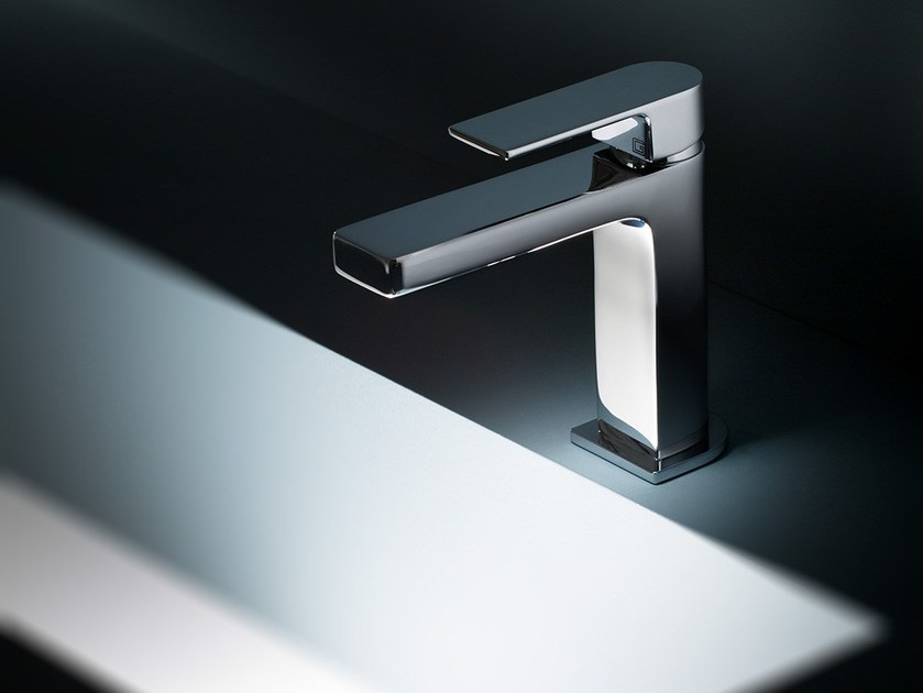 Chromed brass washbasin mixer TEO - GEDA