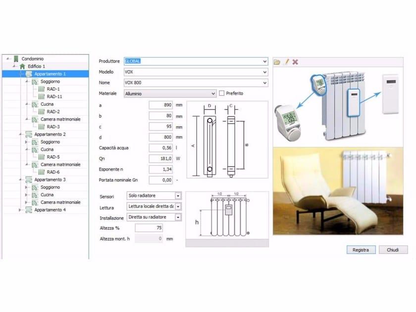 Energy certification TERMOLOG EpiX 7-Modulo CONTABILIZZAZIONE - LOGICAL SOFT