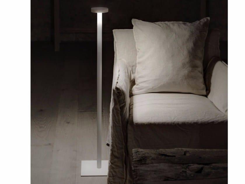 LED metal floor lamp TETATER - DAVIDE GROPPI