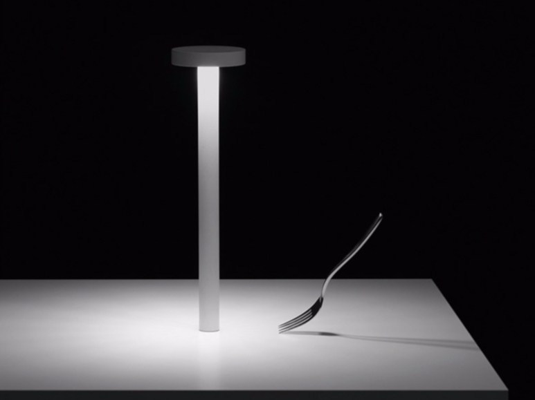 LED lamp with rechargeable battery TETATET - DAVIDE GROPPI