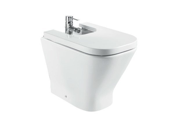 Ceramic bidet THE GAP | Bidet by ROCA SANITARIO