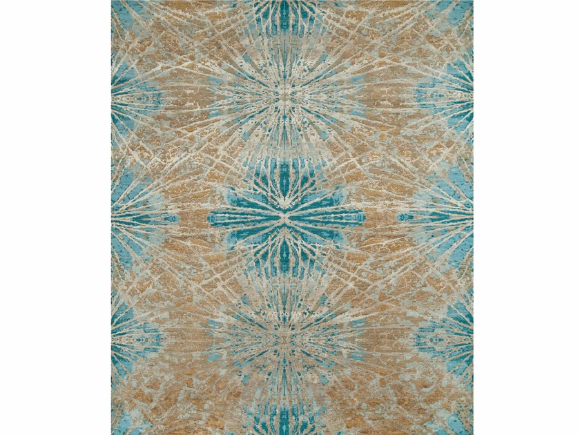 Tappeto fatto a mano ESK-400 Mink/Light Turquoise by Jaipur Rugs
