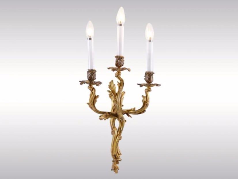 Wall lamp THREE ROCOCO WALL SCONCES - Woka Lamps Vienna