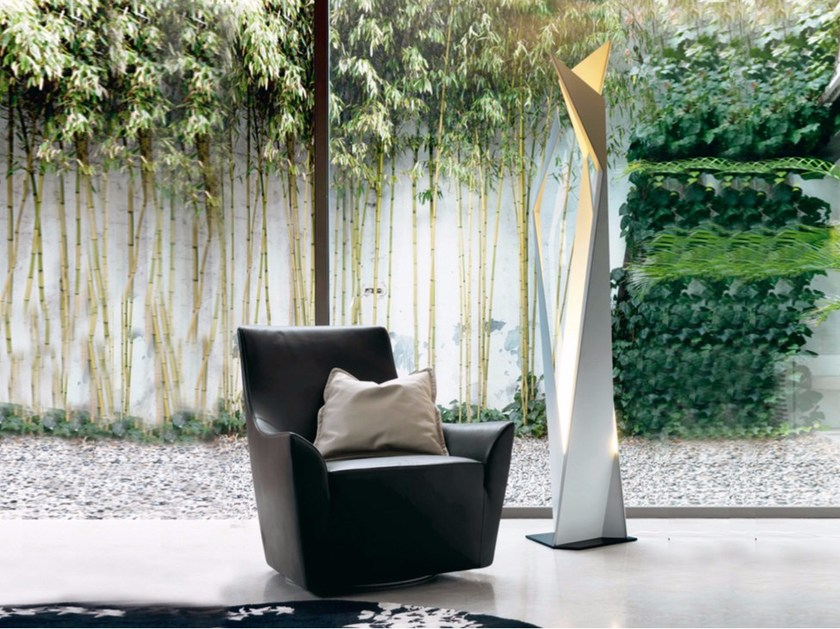 Steel floor lamp THRILLER - Cattelan Italia