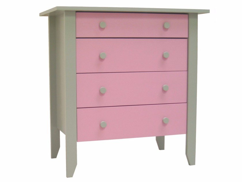 Changing table with drawers TILLEUL | Changing table - Mathy by Bols